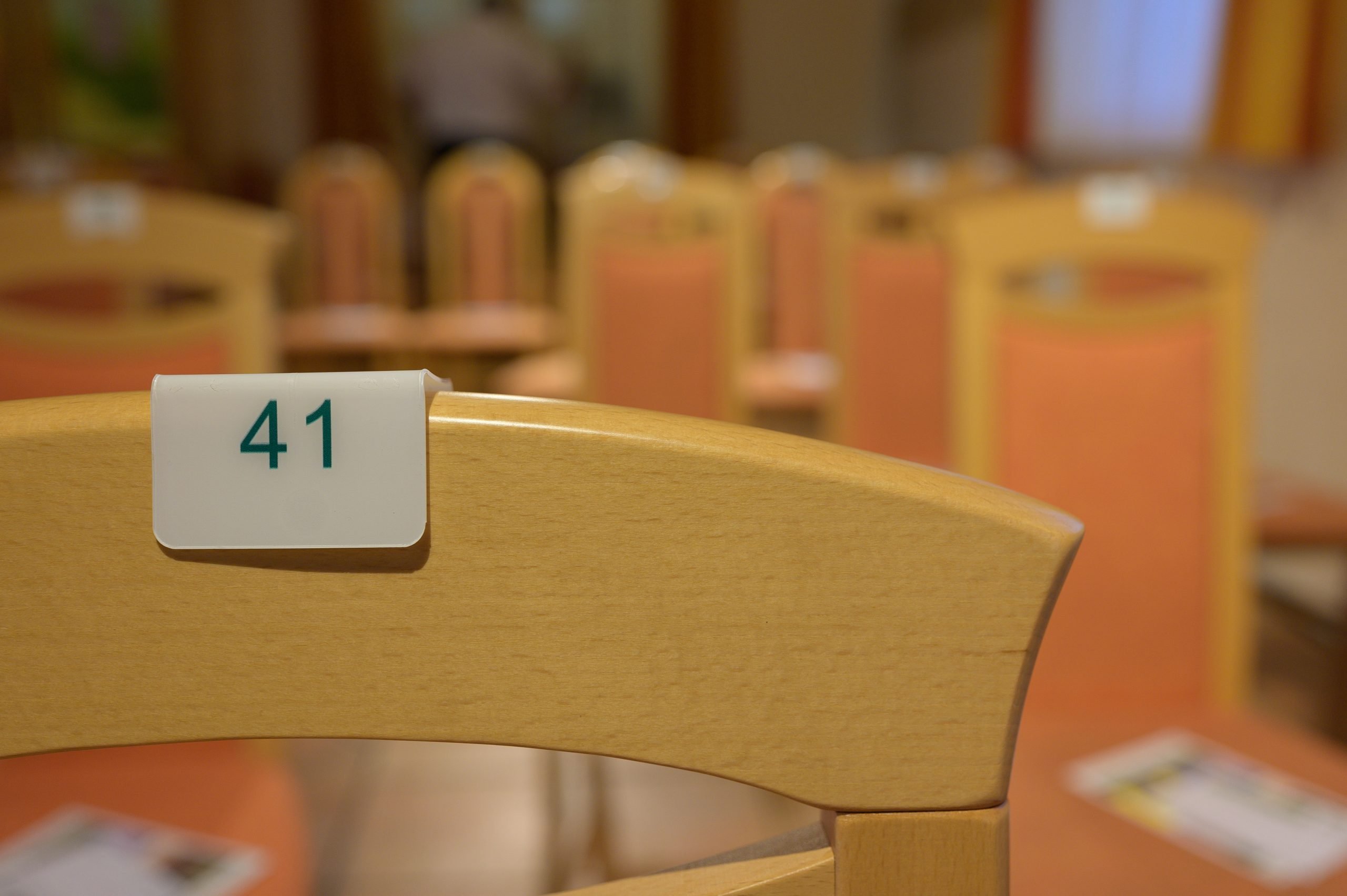 Sitzplatznummer