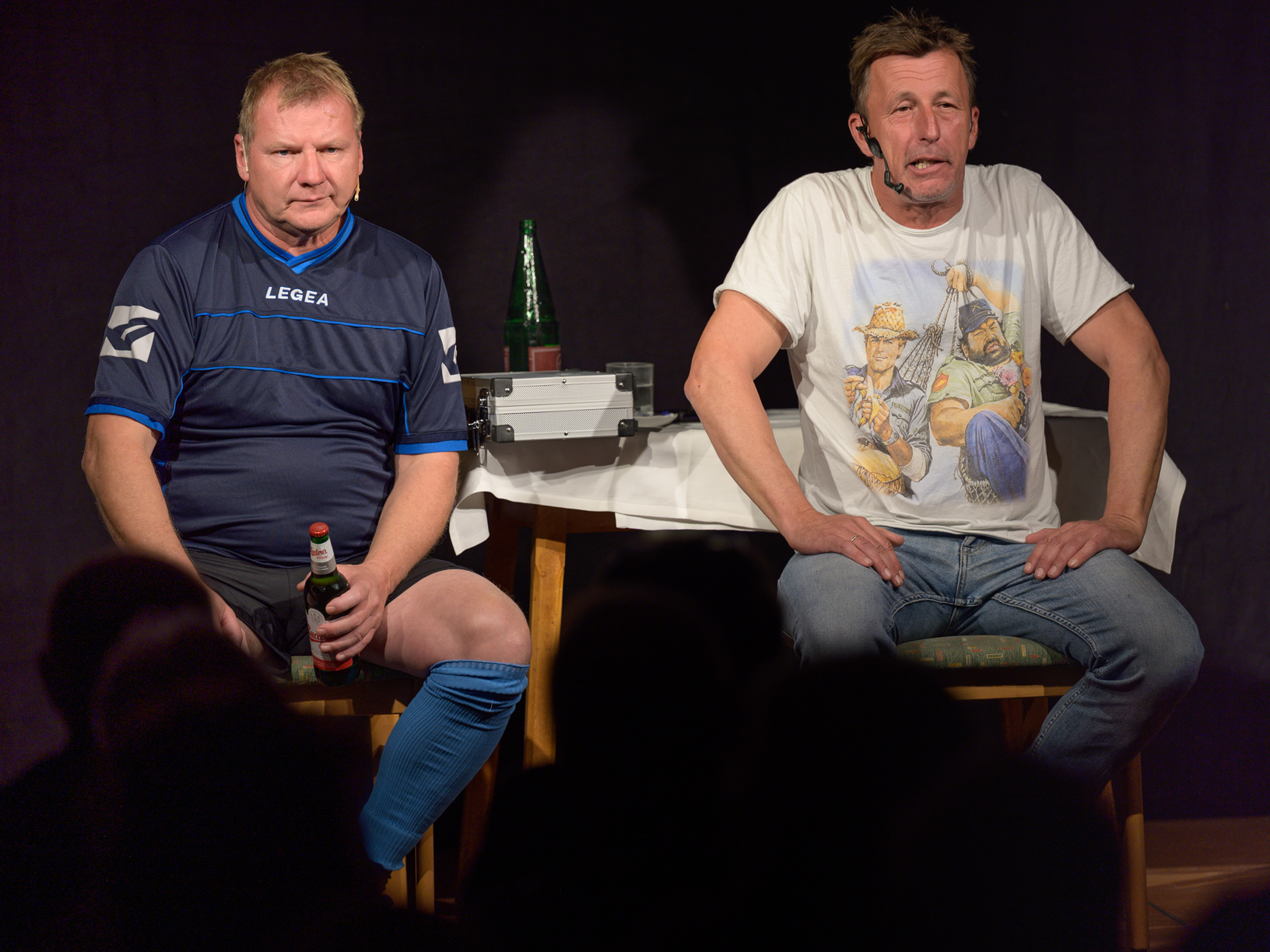 Pepi Hopf & Fredi Jirkal, nimm 2 wie Pech und Schwefel (c) Robert Reiser Photography