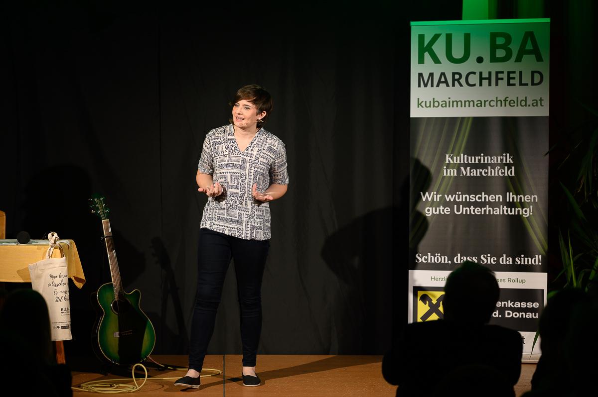 Elli Bauer bei KU.BA im Marchfeld