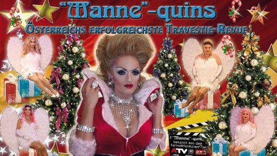 """the """"Manne""""-quins – Weihnachtsshow"""
