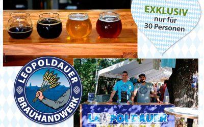 Kulturinarik-Event mit Bierverkostung