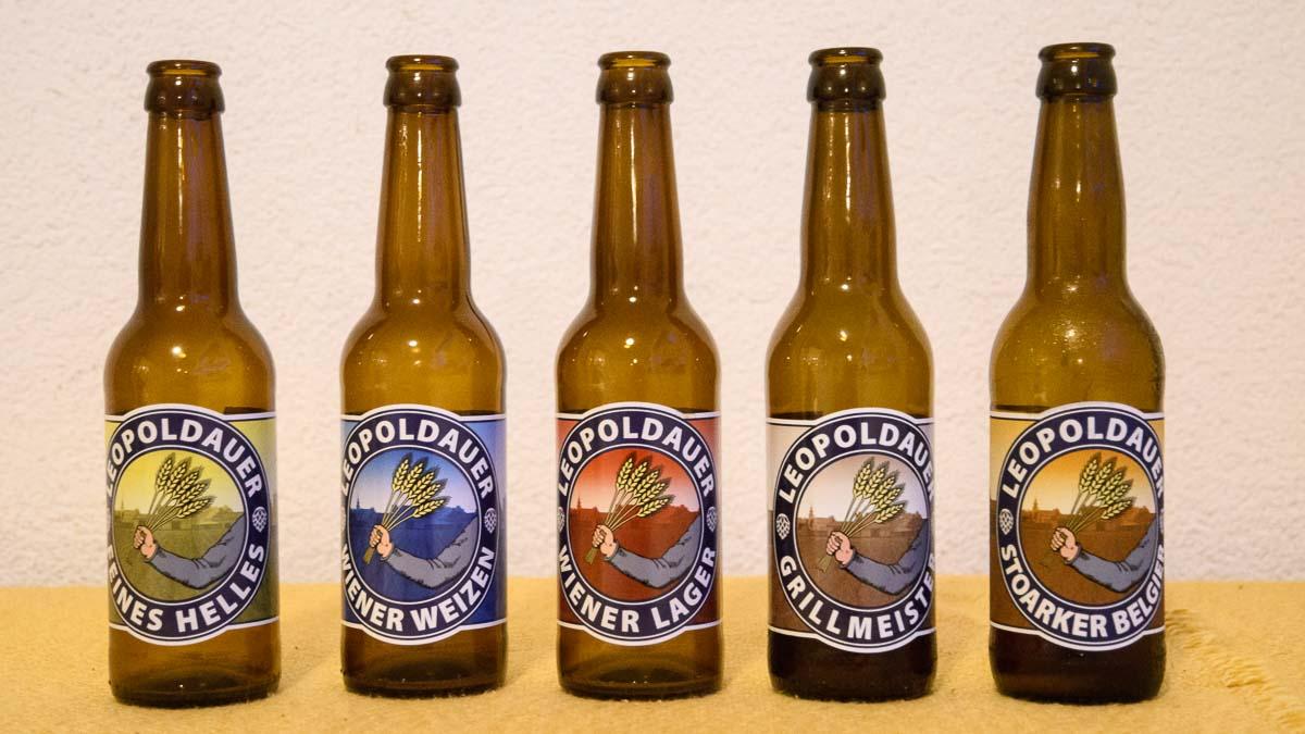 Biere Leopoldauer Brauhandwerk